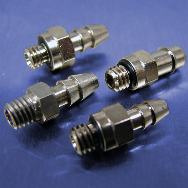 .170 Tube Id Barb Straight Connectors (10-32 UNF)
